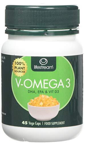 Lifestream V-Omega3 Capsules - Pack of 45 Capsules