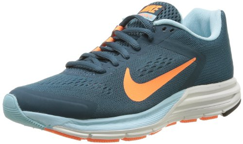 Nike Wmns Zoom Structure 17 615588-380 Damen Outdoor Fitnessschuhe Mehrfarbig - Multicolore (Nght Fctr/Atmc Orng/Glcr Ic/Sm) 35.5