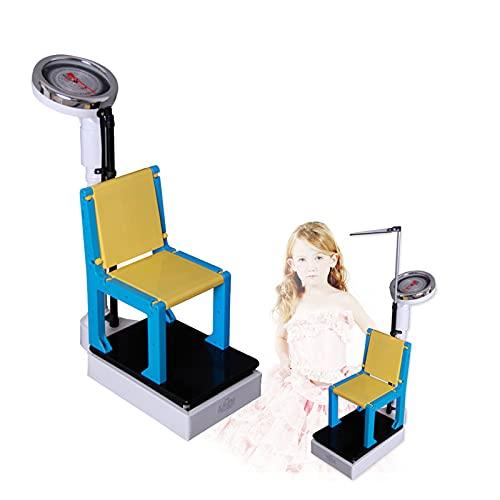 Yeanee Básculas Mecánicas, Básculas Médicas, Altura Y Escala De Peso, Dispositivos Profesionales De Medición De Altura, Básculas para Niños 2 En 1, (60-160cm, 50kg)