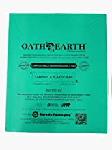 Oath 4 Earth COMPOSTABLE Garbage Bag Small 17 X 20 INCHES (Pack of 15 Bags)