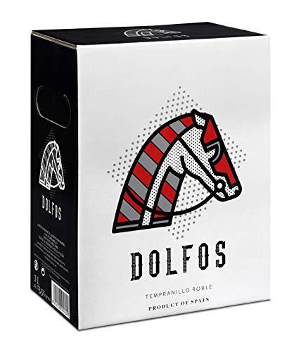 Bag in Box 3L. Dolfos Tempranillo ROBLE Vino tinto roble 4 meses en barricas de roble