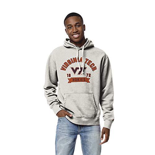 NCAA League Mens Virginia Tech Hokies Stadium Hood, Large, Oatmeal