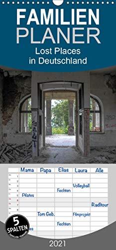 Lost Places in Deutschland - Familienplaner hoch (Wandkalender 2021 , 21 cm x 45 cm, hoch): verlassene Gebäude in Deutschland (Monatskalender, 14 Seiten )