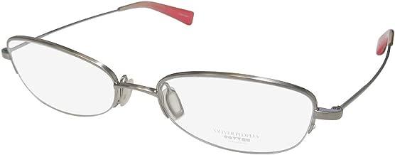 Oliver Peoples Georgina Womens/Ladies Designer Half-rim Light Weight Popular Design Eyeglasses/Eyeglass Frame