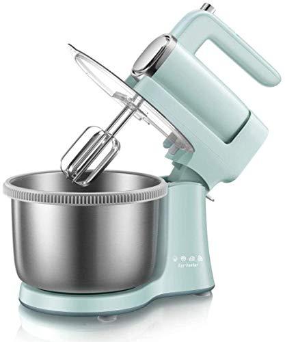 Staafmixer, kloppers Elektrische keukenmachine met turbofunctie 2 in 1 dubbele hand- en keukenmixer Inclusief kom