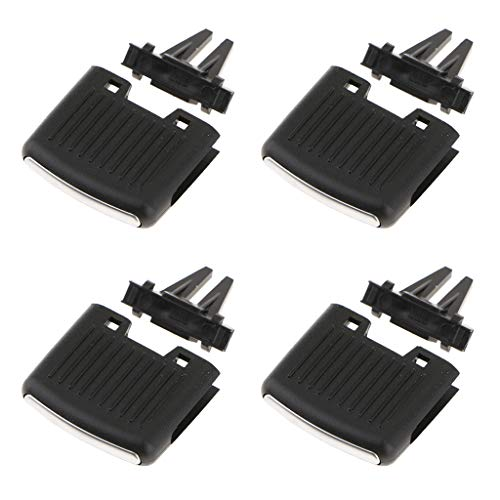 B Baosity 4pcs/lot Car Center Dash A/C Air Vent Outlet Tab Clip Repair Kit for VW Sagitar, Auto Interior Accessories