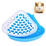 Bebester Pet Toilet, Pet Litter Tray Corner Potty Training For Small Animal Hamster Chinchilla Guinea Pig Bunny Ferret