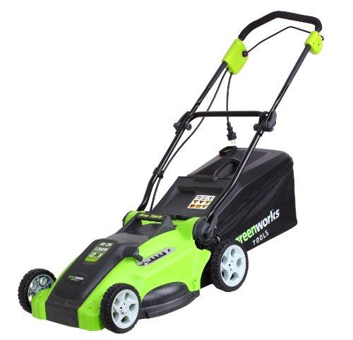 Greenworks Tondeuse électrique 40cm, 1200W - 25147