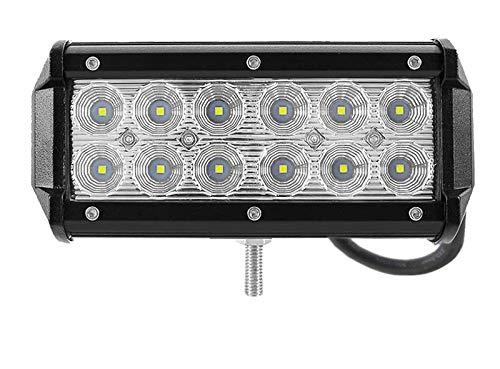 Leetop 36W LED Arbeitsscheinwerfer 6000K 12V 24V Arbeitslicht Offroad Flutlicht Reflektor Scheinwerfer Arbeitsscheinwerfer IP67