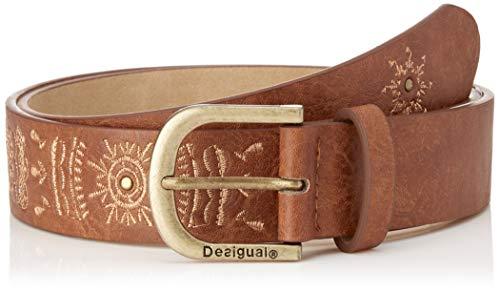 Desigual Cint_mandala Cinturón, (Camel 6011), 105 (Talla del fabricante: 90 #90 #6641) para Mujer