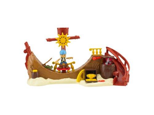Mattel BHN17 - Fisher-Price Jake und die Nimmerland Piraten Nimmerland Skate Park, Spielset