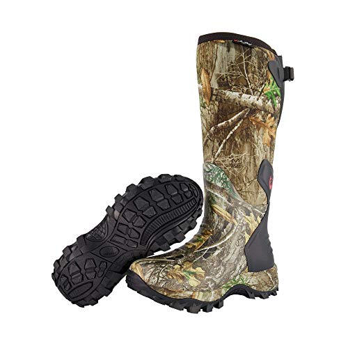 HUNTSHIELD Woman's Neoprene Muck Boot | Insulated Waterproof Rubber Hunting Boot | Size 8