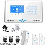 ITALIAN ALARM Antifurto Casa Wireless KIT CONNECTION mod 2021 con connessione WIFI, Combinatore GSM, APP'S-Home' Android/IOS, sirena filare inclusa. Già configurato + Videotutorial, Assistenza ITALIA