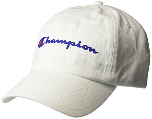 Champion Men's Ameritage Dad Adjustable Cap, white, One Size