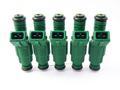Lot de 5 injecteurs de carburant géants 0280155968 pour Focus 2000 2001 2002 2003 2004 2005 2006 2007 2008 2009 2010 2011 2012 2013