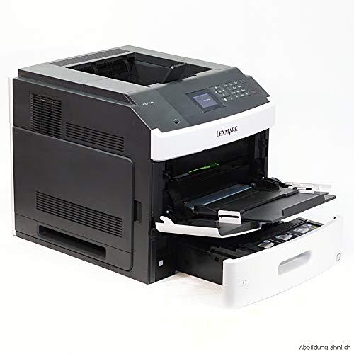 Lexmark MS810DN Laserdrucker (1200 dpi, USB 2.0) graphit/weiß