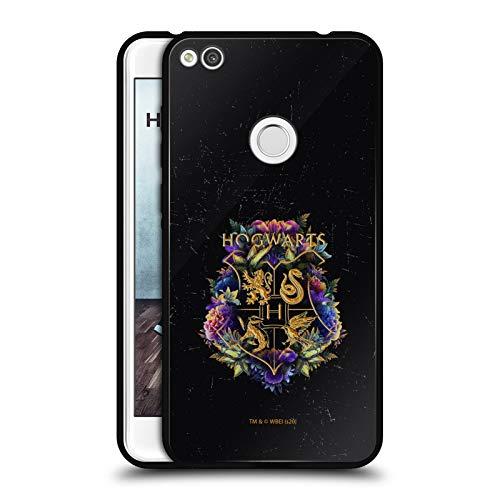 Oficial Harry Potter Libro de los Monstruos Reliquias de la Muerte XXXI Estuche de Cristal Híbrido Compatible con Huawei Mate 20 Lite