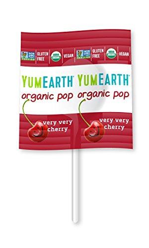Yumearth lata surtido de 50 piruletas ecológicas de 8 sabores edición limitada 2021
