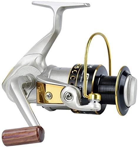 QAZWSX Carrete de Pesca, Carrete de Pesca de Metal Rueda de Hilado Pole mareado Carrete de Pesca de Larga Distancia Carrete de Pesca Carrete de Pesca Pesca,5000
