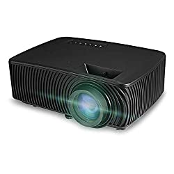 PLAY™ 1080p Projector Home Theater, PC, Laptop, USB Flash Disk 2000 Lumens with inbuilt Speaker - Black,Play,PlayProjector-PP006082518