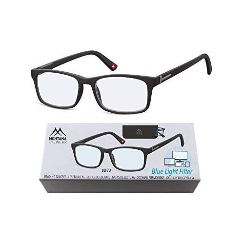 Montana Eyewear - Lesebrille mit BLUE LIGHT FILTER Mod. B-MR73 - +2.50 Dpt.