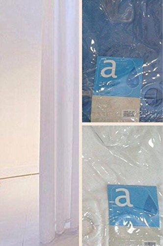 Atenas Bath - Cortina de baño lisa mágica 180x200 cm