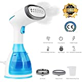 Hamnytech Clothes Steamer Garment Steamer 2 in 1 Steamer for Clothes Handheld Fabric