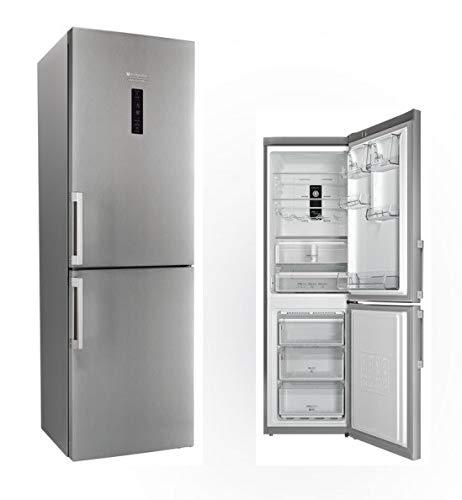 Hotpoint XH8 T3Z XOZH/1 frigorifero con congelatore Libera installazione Acciaio inossidabile 338 L A+++