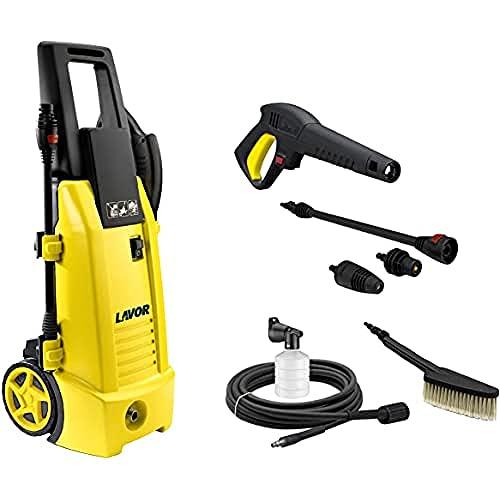Lavor NINJA PLUS 130 PATIO Idropulitrice Outdoor, 180 W, 230 V, Giallo/Nero