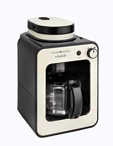 Team Kalorik TKG CCG 1001 KTO Kitchen Original Machine à café 2 en 1, 600 W, Crème