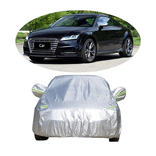 Couverture de voiture Compatible avec la couverture de voiture de sport Audi TTS épaississant la couverture de voiture de vêtements de protection solaire de protection contre la poussière de voiture a