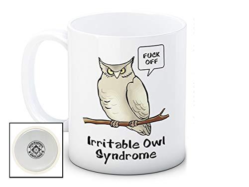 Irritable Owl Syndrome - Rude Funny Ceramic Coffee Mug