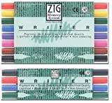 Escritor sistema de memoria ZIG Twin Tip Pen Sets - 4 Color Set