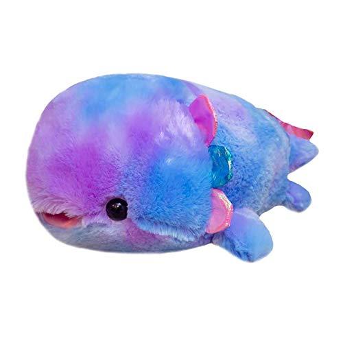 37-58cm Kawaii Colorido amander Juguetes de Peluche Suave Encantador bebé pez muñeca Relleno Animal Lindo Almohada para niñas Regalo de cumpleaños para niños 2 37cm