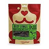 Vivadogs - 100% Carne de Ternera Natural Secado al Aire (pulmones) - 100g - Chuches para Perros - Snacks para Perros - Premios para Perros - Golosinas para Perros - Huesos para Perros