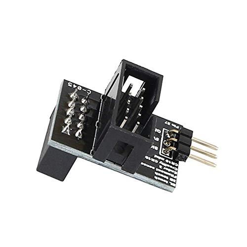 Drucker Zubehör Schwarz Upgrade Pin 27 Board Adapter Sensor Breiter Power Channel für Creality CR-10 Ender-3 Ender 3...