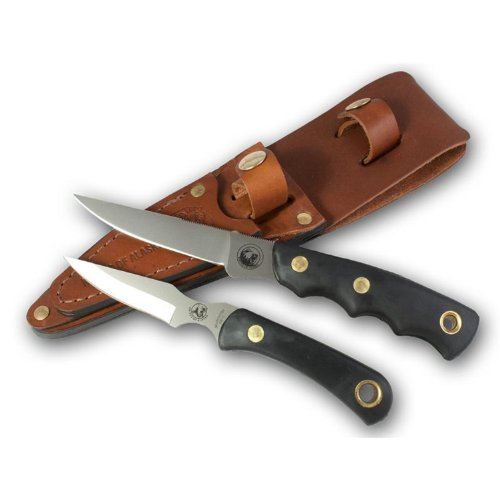 Knives of Alaska 00256FG Jaeger Cub Combo Set, Black