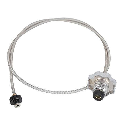 Leyeet Adaptador de cabeza de conversión de conector de manguera de transferencia de tanque de gas de uso al aire libre de