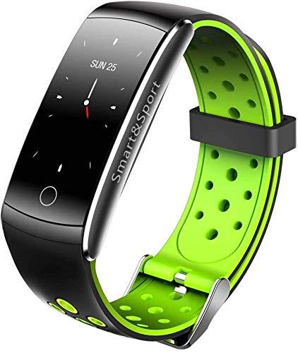 Bright Touch Armband met hartslagmeter, lange stand-by bloeddruk, hartslag, regenjas, sport, stappenteller, universeel, multifunctionele horloges voor mannen en vrouwen