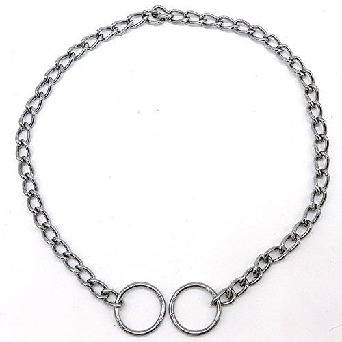 Hondenhalsketting, eenrijig, 45 cm x 2 mm, metaal, huisdier, hond, ketting, schakels halsband