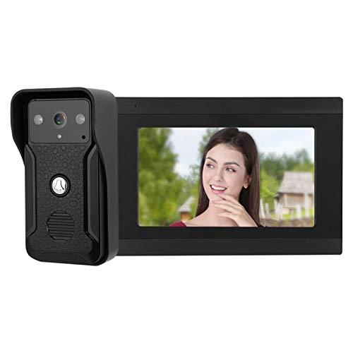 con monitor LCD digital HD de 7 pulgadas Pantalla táctil capacitiva multipunto Sistema de timbre con videoportero(Australian regulations)