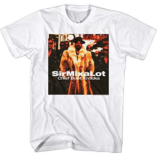 Sir Mix-a-Lot Chief Boot Knocka Album Men's T Shirt Cover 94' Rapper Hip Hop