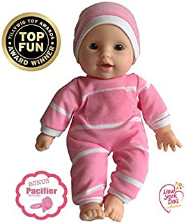 "11 inch Soft Body Doll in Gift Box – Award Winner & Toy 11"" Baby Doll (Caucasian)"