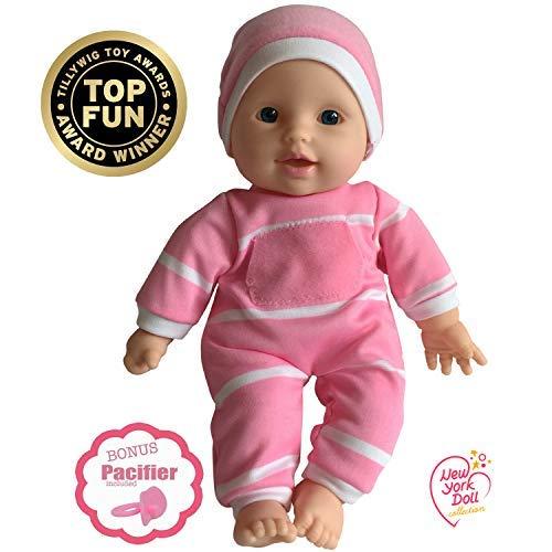 11 inch Soft Body Doll in Gift Box - Award Winner & Toy 11' Baby Doll (Caucasian)