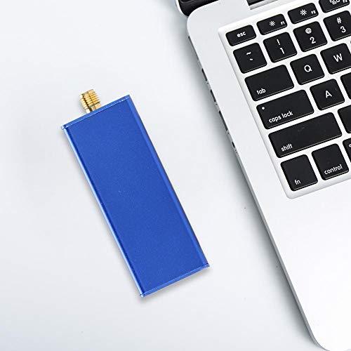 USB-radio MSI SDR-ontvanger, breedband Soft Radio HF Short Waves-ontvanger ondersteunt aeronautische banden LF tot HF, VHF, UHF Compatibel met SDRPLAY RSP1 Radio Non-RTL