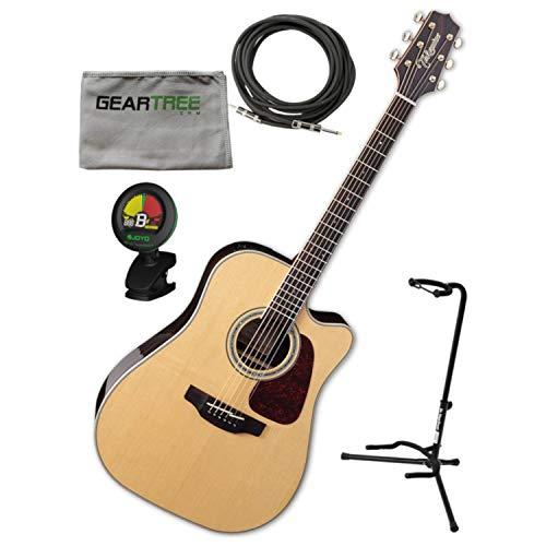 Takamine GN90CE ZC NEX Body Akustische E-Gitarre mit Gigbag, Ständer, Tuch, C