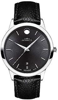 Movado - Reloj Analógico para Hombre de Automático con Correa en Cuero 0607453
