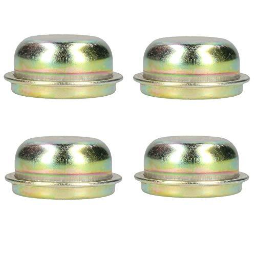 AB Tools 4 Reemplazo 50.5 Tapa Metal Cubo de la Rueda Rodamiento Remolque guardapolvo