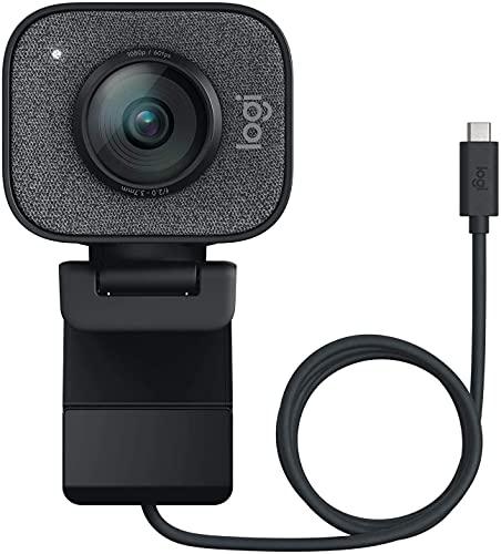 Logitech StreamCam Graphite 1080P HD 60fps Streaming Webcam (Renewed)