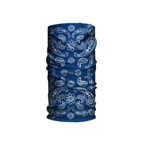 HAD Head Accessoires Original, India Paisley Blue Om, One size, HA110-0280